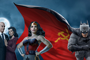 Superman Red Son 2020 Movie Wallpaper