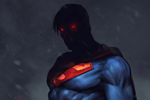 Superman Redesign 4k Wallpaper