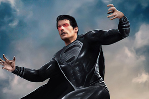 Superman Regeneration Suit In Action 4k Wallpaper