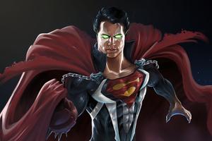 Superman Spawn 4k Wallpaper
