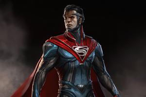 Superman Suit Injustice 2 Wallpaper