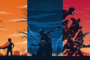Superman Trilogy Wallpaper
