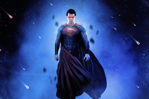 Superman Up Art