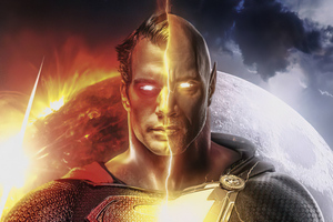 Superman V Black Adam