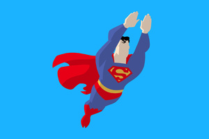 Superman Vector Style