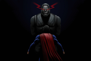 Superman Vs Darkseid 4k 2020