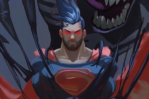 Superman Vs Venom