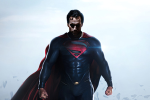 Superman X Man Of Steel 4k Wallpaper