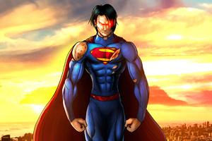 Superman Young Wallpaper