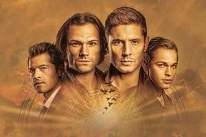 Supernatural TV Show 2020 Wallpaper
