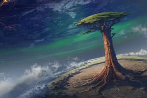 Supertree Scifi 5k Wallpaper