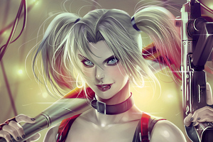 Supervillain Harley Quinn Wallpaper