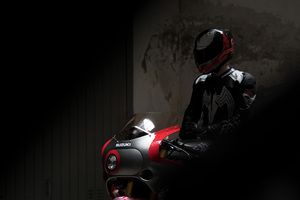 Suzuki GSX R 1100 Venom Helmet Wallpaper