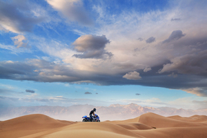 Suzuki Hayabusa In Desert 5k