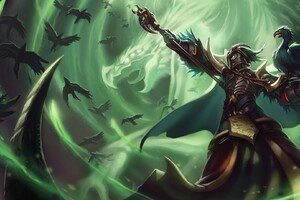 Swain League Of Legends Wallpaper