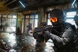 Swat Police Soldiers 4k Wallpaper