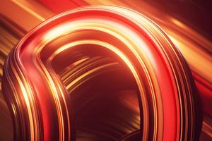 Swirl Digital Abstract 4k Wallpaper