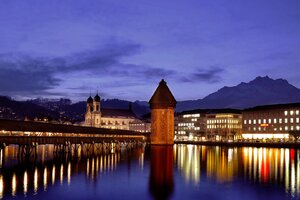 Switzerland Night