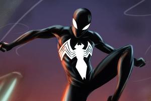 Symbiote Spider Man 4k