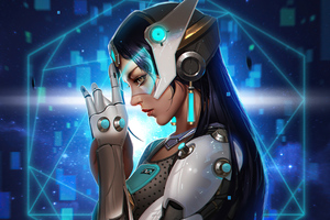 Symmetra Overwatch 2020 4k Wallpaper
