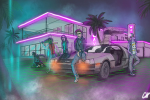 Synthwave Punkers