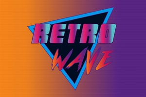 Synthwave Retro Wave