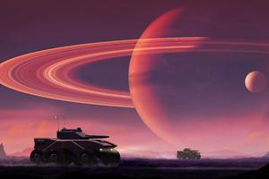 Tanks Force Planet Scifi 4k Wallpaper