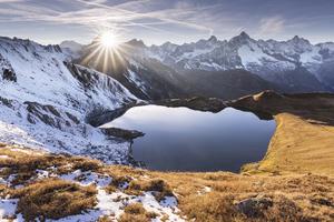 Tarn Lake Mountains