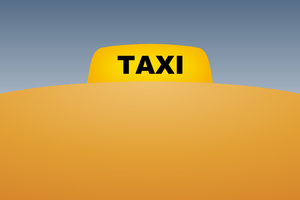 Taxi Minimal 4k