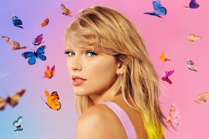 Taylor Swift Apple Music Photoshoot Wallpaper