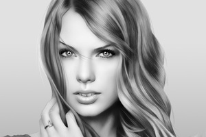Taylor Swift Digital Painting