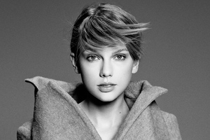 Taylor Swift Monochrome 4k 2019