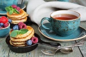 Tea Pancakes 4k