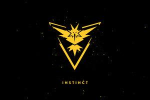 Team Instinct Dark Background Wallpaper