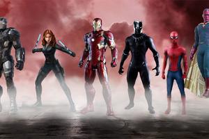 Team Iron Man Art