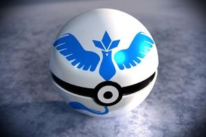 Team Mystic Pokeball