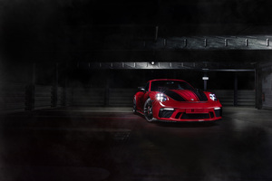 TechArt Porsche 911 GT3 2018 Wallpaper