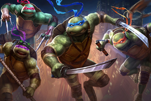 Teenage Mutant Ninja Turtles 2020 Wallpaper