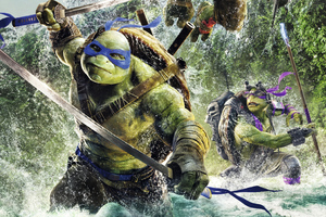 Teenage Mutant Ninja Turtles 4k