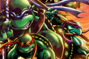 Teenage Mutant Ninja Turtles Art Wallpaper
