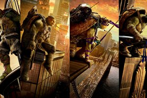Teenage Mutant Ninja Turtles Movie Image Wallpaper