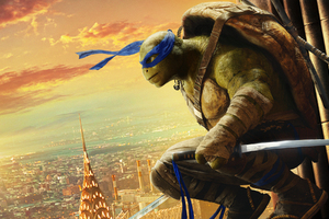 Teenage Mutant Ninja Turtles Out Of The Shadows HD Wallpaper
