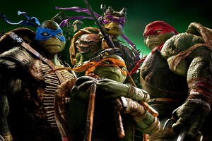 Tennage Mutant Ninja Turtles HD Wallpaper