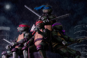Tennage Mutant Ninja Turtles Toys Wallpaper