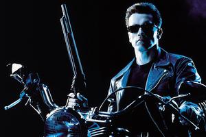 Terminator 2 Arnold Schwarzenegger 4k Wallpaper