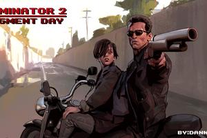 Terminator 2 Judgment Day 4k Wallpaper