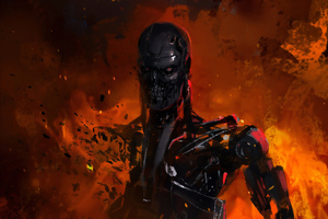 Terminator Art Wallpaper