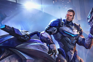 Terminator Cyber Garena Contra Returns Wallpaper