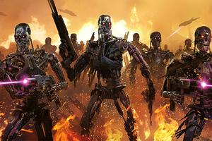 Terminator Judgement Day 4k