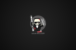 Terminator Minimalism 4k Wallpaper
